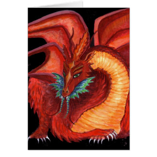 The Red Dragon Card