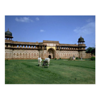The Red Fort, Agra, Rajasthan, India Postcard