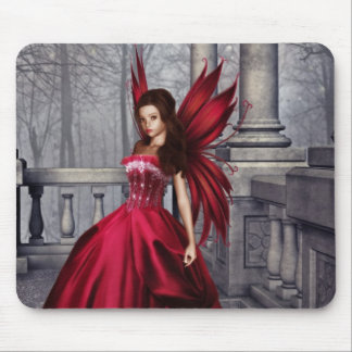 The Red Glamour Fairy Mousepad
