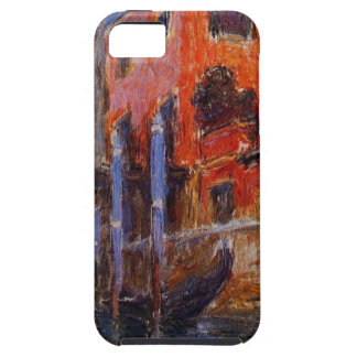 The Red House by Claude Monet iPhone 5 Cases