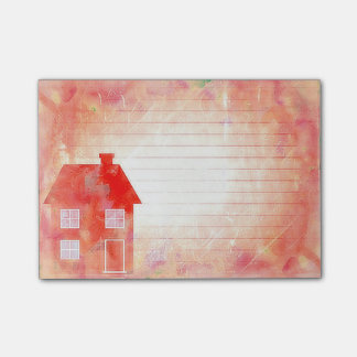 The Red House  Post-it® Notes 4 x 3