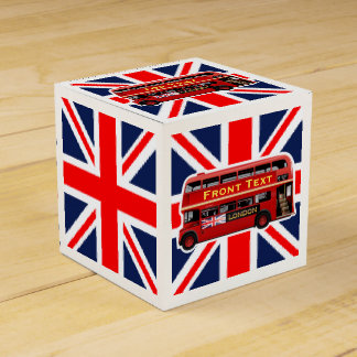 The Red London Bus Favour Box