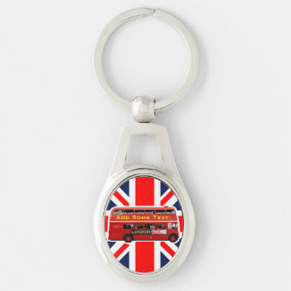 The Red London Double Decker Bus Key Ring