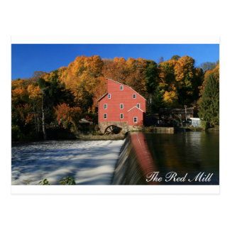 The Red Mill Autumn II Postcard