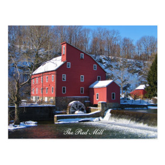 The Red Mill II Postcard