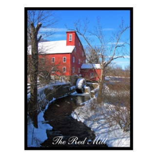 The Red Mill vertical Postcard