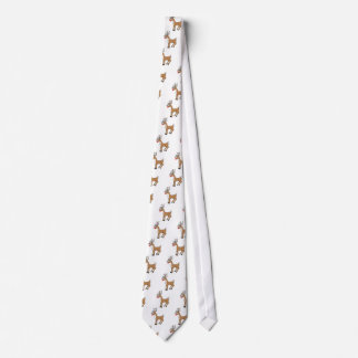 The Red Nose Reindeer Christmas T Shirt Tie