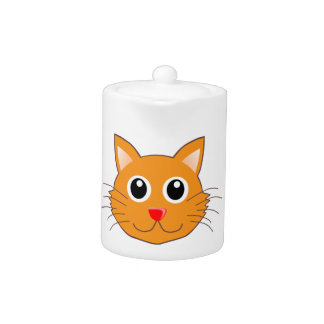The Red-Nosed Orange Cat