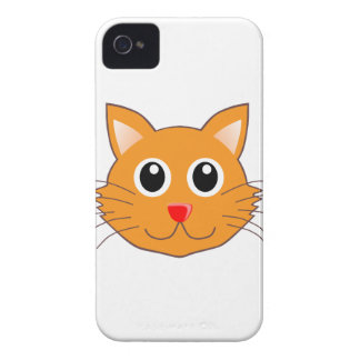 The Red-Nosed Orange Cat Case-Mate iPhone 4 Case