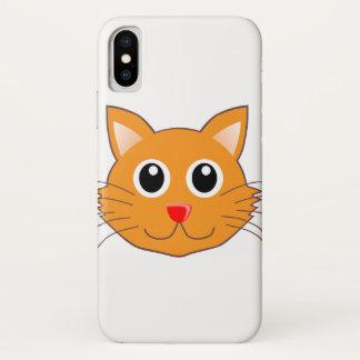 The Red-Nosed Orange Cat iPhone X Case