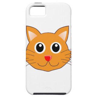 The Red-Nosed Orange Cat Tough iPhone 5 Case