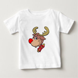 the Red Nosed Reindeer Baby T-Shirt
