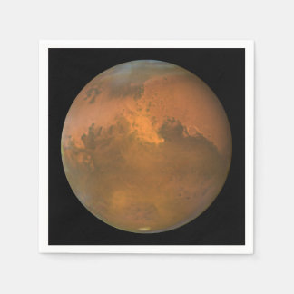 The Red Planet Mars Paper Serviettes
