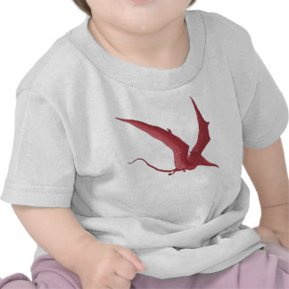 The Red Pterodactyl T Shirt