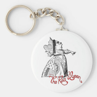 The Red Queen Key Chain