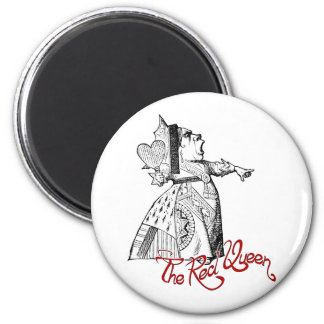 The Red Queen Refrigerator Magnets