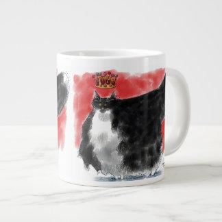 The red queen of cats jumbo mug