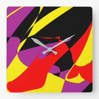 The Red Shoe Wall Clock by Julie Everhart