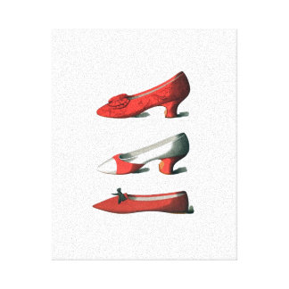 The Red Shoes Gallery Wrap Canvas