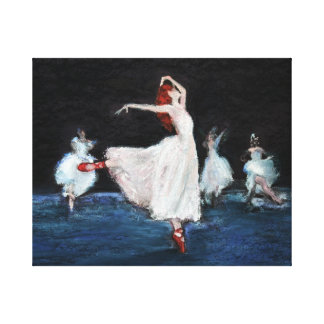 The Red Shoes Gallery Wrapped Canvas