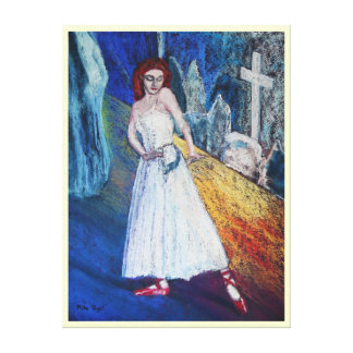 The Red Shoes Stretched Canvas Prints