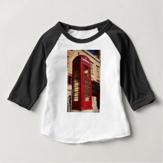 The red Telephonebox Baby T-Shirt
