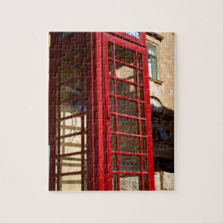 The red Telephonebox Jigsaw Puzzle