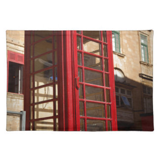 The red Telephonebox Placemat