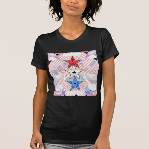 The Red, The White, The Blue,... Stars and Stripes T Shirt