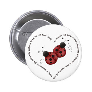 The Red Thread 6 Cm Round Badge