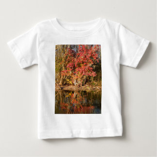 The Red Tree at Sunset Baby T-Shirt