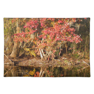 The Red Tree at Sunset Placemat