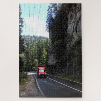 The Red Truck Jigsaw Puzzle