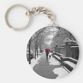 The Red Umbrella Key Ring