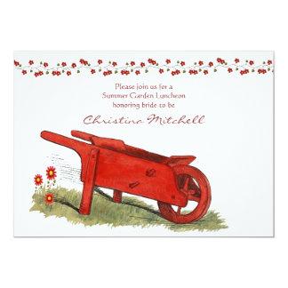 The Red Wagon Invitation