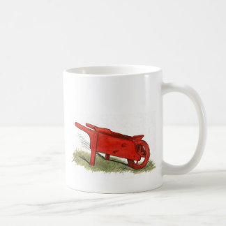 The Red Wheelbarrow Coffee Mug