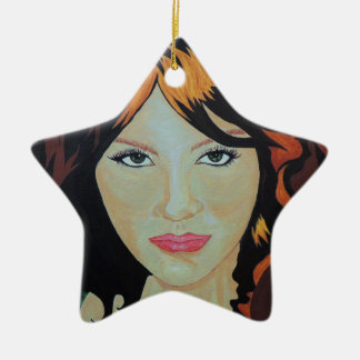 THE RED WITCH CERAMIC ORNAMENT
