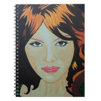 THE RED WITCH SPIRAL NOTEBOOK