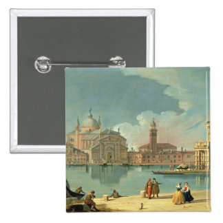 The Redentore, Venice 15 Cm Square Badge