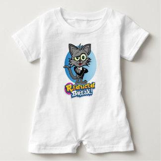 The Reduced Break Crazy Cat! Baby Bodysuit