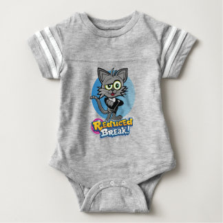 The Reduced Break Crazy Cat! Baby Bodysuit