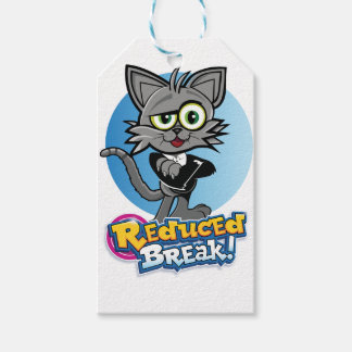 The Reduced Break Crazy Cat! Gift Tags