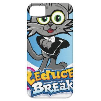 The Reduced Break Crazy Cat! iPhone 5 Case