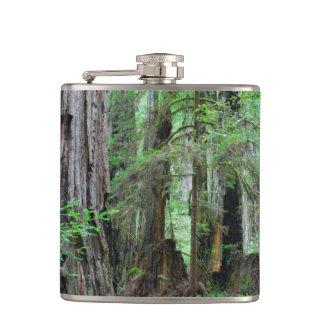 The Redwoods - Sequoia Hip Flask