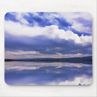 The Reflections Of A Dramatic Sky Mousepad