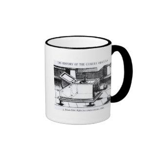 The reflex box camera obscura ringer mug