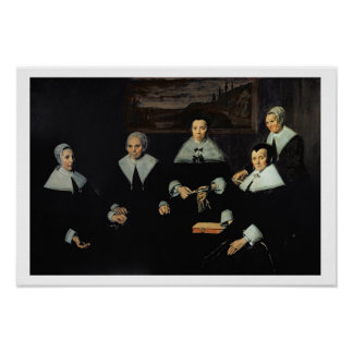 The Regentesses of the Old Men's Almhouse, Haarlem Poster