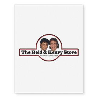 The Reid & Henry Store Temporary Tatoo