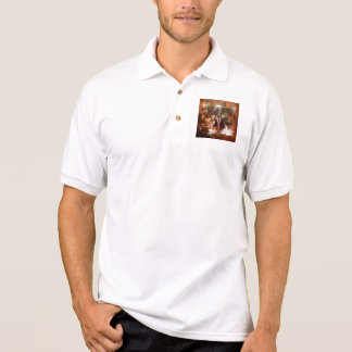 The reign of the water goes over the sea polo shirts
