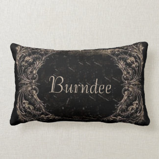 The Reluctant Godfather Burndee Throw Pillow
